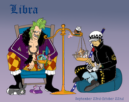W.I.P. One Piece Horoscope: Libra by bailzzararco