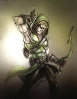 Arrow by TheRedVampx1