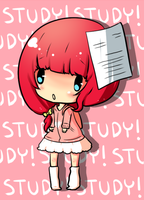 STUDY! by le-pink-piglet