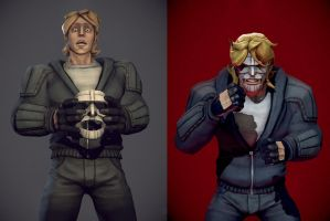 Luther Strode poses by The-Great-Shiniku
