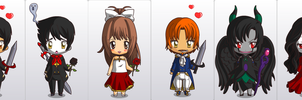 _The_Chibi_Book_Of_Life_Main Characters_ by Fire-Miracle