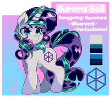 COM: Aurora Bell Ref by QueenAshi