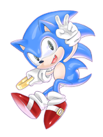 Classic sonic by Prr-11