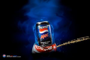 Pepsi max.. no sugar by Doniou