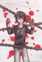 Karkat: the knight of blood by MyaTheSquishyOctopus