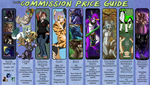 Commission Price Guide by Khamisu
