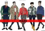 BIGBANG Made series A by GSPARRowdeathlegend