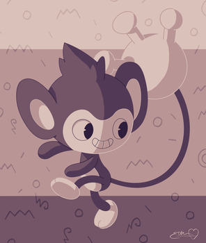 Melvin's Aipom by JollyRoad