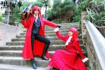 Kuroshitsuji: Madam Red and Grell Cosplay 2 by undercreed-genesis