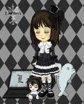 Gothic lolita ID by D-Thessy