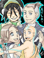 ATLA: TEAM AVATAR by GiselleRocks