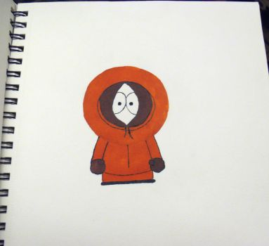 Kenny from south park (unfinished) by Vapetoday