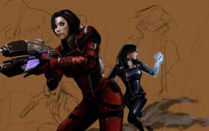 Shepard draft by Warb1rd
