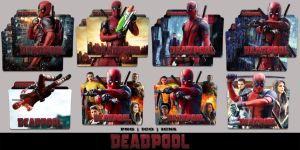 Deadpool (2016) Folder Icon Mega Pack by Bl4CKSL4YER