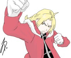 Edward Elric by Dio773