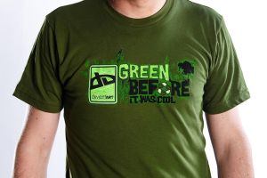 Green Before it Was Cool by deviantWEAR