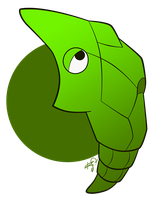011 - Metapod by the-Mad-Hatress