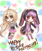 IA and Yukari B-DAY by Karlzey