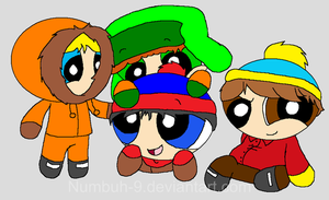 South Park boy's RoudyRuffed by Numbuh-9