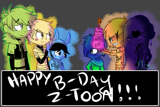 [GIFT] Happy Birthday Z-T00N by xTriss