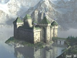 Winjard Castle wp by svenart