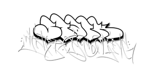 Stark - Winter is Coming Graffiti 1 by GeOh-One