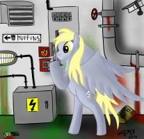 Derpy and the Chocolate Factory by piotrb5e3
