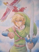 The Legend Of Zelda - Skyward sword - Link by giulystar-chan