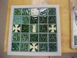 Medieval Clay Tiles by AutobotWonko