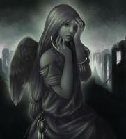 Angel of Sorrow by DarlingMionette