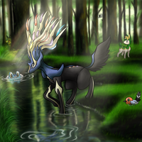 Xerneas Forest by Fire-Girl872