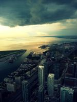 CN Tower View by TrippySpaz