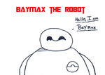Baymax The Robot by WinterMoon95