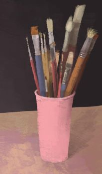 Oils brushes by Ayjee