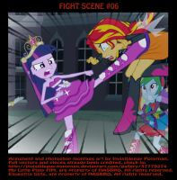 FIGHT SCENE #06 by INVISIBLEGUY-PONYMAN