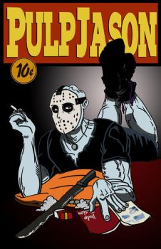 Jason In Pulp Fiction by ibentmywookiee