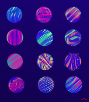 Magic Marbles, WIP Part 2 by faith303
