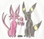 Espeon And Umbreon- Gates To Infinity by PokeSpeBanette