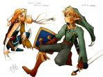 Link + Zelda:a working process by Havenaims