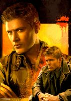 Dean, Hotter Than Hell by FrauLuminara
