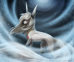 Art Trade: Frozen sun by Ledacek