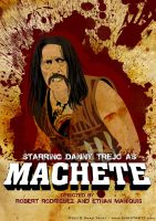 Machete Poster by chadtrutt