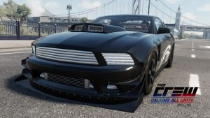 2015 ford mustang. drag. the crew by DazKrieger