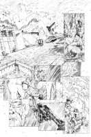 Magic Bullets Pencil Page 1 by cronevald