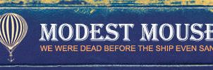 Modest Mouse Banner by MikeM92