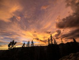 Lookout sunset150630-27 by MartinGollery