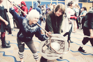 Jack and Hiccup - Metrocon '13 by Iya-Insanity