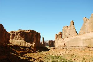 Arch National Park by norfaulk