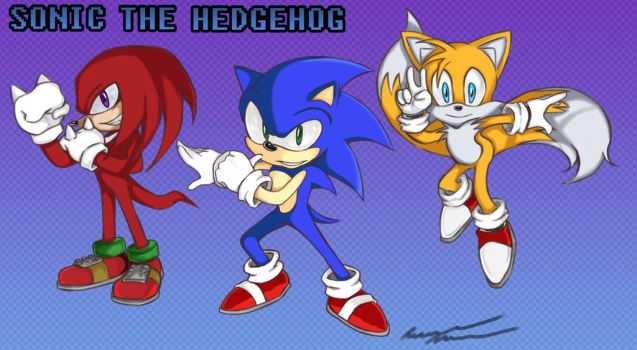 Team Sonic by Unleashed360