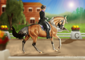 RRSE - Dressage: One Moment To Remember by SweetLittleVampire